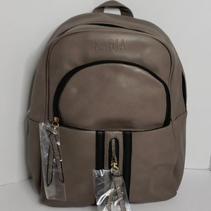 KARIA COLLECTION  BACKPACK  RA0185  GREY COLOR